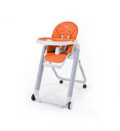 Стульчик для кормления Nuovita Futuro Senso Bianco, оранжевый