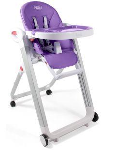 Стульчик для кормления Nuovita Futuro Bianco, фиолетовый