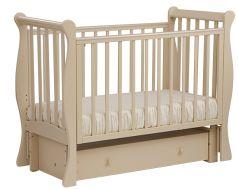 """Кровать детская Лель АБ 21.3 """"Лаванда"""", маятник продольный (цвета в ассорт.)"""