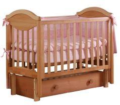 """Кровать детская Лель АБ 23.3 """"Камелия"""", маятник продольный (цвета в ассорт.)"""