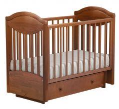"""Кровать детская Лель АБ 23.2 """"Камелия"""", маятник поперечный, светлый орех"""