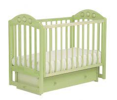 """Кровать детская Лель АБ 24.2 """"Орхидея"""", маятник поперечный с шариками (цвета в ассорт.)"""