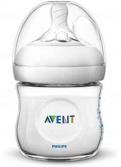 Бутылочка из полипропилена Philips Avent Natural SCF030/27, 125мл, 2шт.