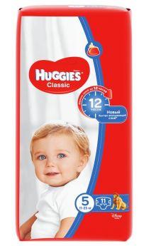 Подгузники Huggies Classic Small Pack 5L, 11-25кг, 11шт.