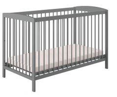Кроватка детская Polini Simple 101, серая