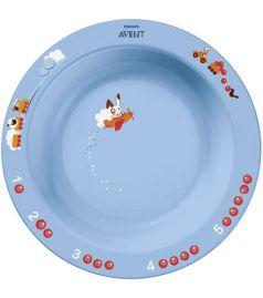 Глубокая тарелка Philips Avent SCF704/01, 450мл