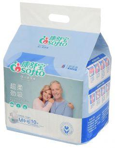 Подгузники для взрослых  Cosofto М, 10шт