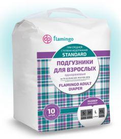 Подгузники для взрослых Flamingo Standard L, 10шт.