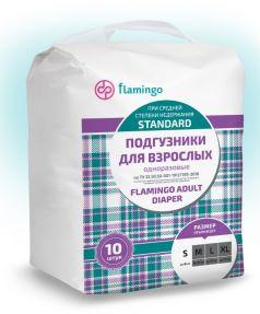 Подгузники для взрослых Flamingo Standard S, 10шт.