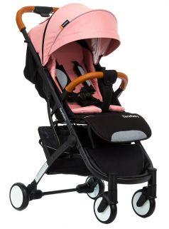 Прогулочная коляска BabyZz D200, розовая