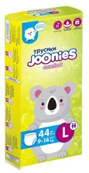 Подгузники-трусики Joonies Comfort, размер L (9-14кг), 44шт.