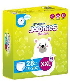 Подгузники-трусики Joonies Comfort, размер XXL (15-20кг), 28шт.