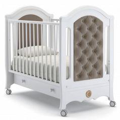 Детская кровать Nuovita Grazia Bianco, белая