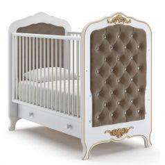 Детская кровать Nuovita Fulgore Bianco, белая
