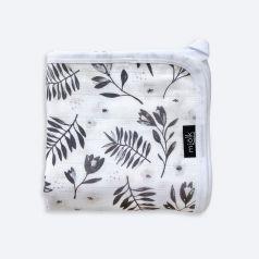 """Муслиновое одеяло Mjolk """"Цветы"""" легкое, 80х80см"""