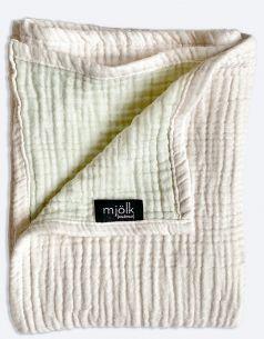 """Одеяло муслиновое Mjolk """"Пудра"""", 120х100см"""