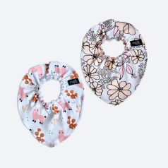 Нагрудник Mjolk Mini Ламы девочки/Spring Blossoms, 2шт.