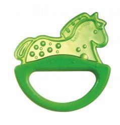 """Погремушка Canpol babies с эластичным прорезывателем """"Лошадка"""", 0+, зеленая"""