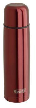 Термос Regent Inox Bullet в чехле, красный, 1л