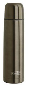 Термос Regent Inox Bullet в чехле, графитовый, 1л