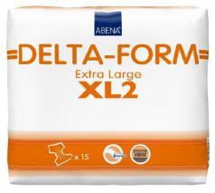 Подгузники для взрослых Abena Delta-Form 2, XL 110-170см, 15шт.