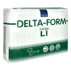 Подгузники для взрослых Abena Delta-Form 1, L 100-150см, 25шт.