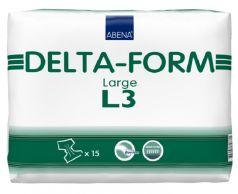 Подгузники для взрослых Abena Delta-Form 3, L 100-150см, 15шт.