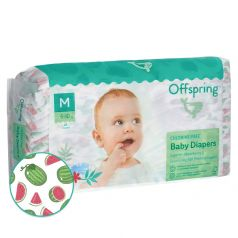 "Подгузники Offspring ""Арбузы"" M, 6-10кг, 42шт."