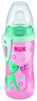 Поильник NUK Active Cup с силиконовой насадкой, 300мл