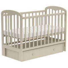 """Кровать детская """"Фея"""" 328 с универсальным маятником, бежевая"""