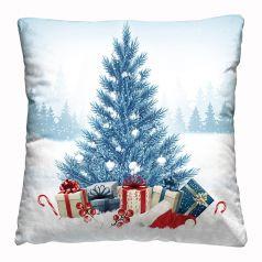 "Подушка-думка Нордтекс Новый год ""Морозное утро"", 40х40см"