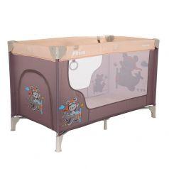 Манеж-кровать Pituso Florecita одноуровневый, 2 кольца, лаз на молнии (цвета в ассорт.)