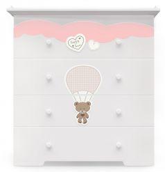 Детский комод Nuovita Stanzione Cute Bear (цвета в ассорт.)