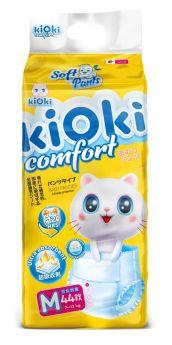 Подгузники-трусики kiOki Comfort Soft L (7-12кг), 44шт.