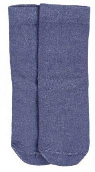 Носки Эвантюэль детские однотонные, темно-синие, 2 пары