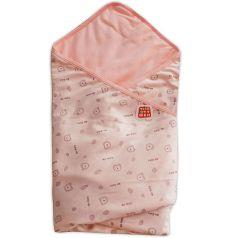 """Плед Топотушки """"Мишки"""", 90х90см, розовый"""