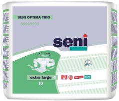 Подгузники для взрослых Seni Optima Trio Extra Large, 4 размер, 105-155см,10шт.