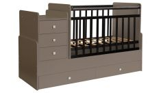 Кровать-трансформер детская Фея 1100, латте