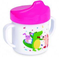 Поильник-непроливайка Canpol babies, розовый, 200мл