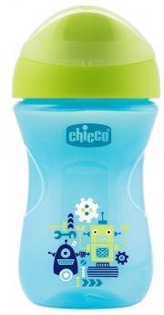 """Чашка-поильник Chicco Easy Cup """"Робот"""", 266мл"""
