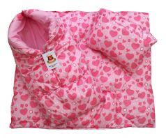 Конверт-одеяло ДетиЗим, розовый