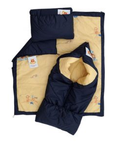 Конверт-одеяло ДетиЗим, темно-синий