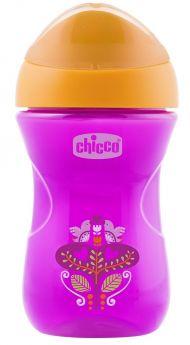 "Чашка-поильник Chicco Easy Cup ""Цветочек"", 266мл"