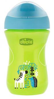 """Чашка-поильник Chicco Easy Cup """"Зебра"""", 266мл"""