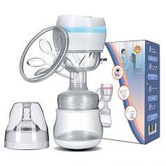 Набор Kunder: электронный молокоотсос, соска и голубая бутылочка, 150мл