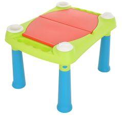 Стол KETER Creative для детского творчества и игры, 79х56х50см, бирюзово-красный
