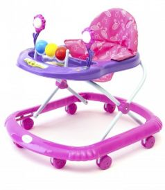 """Детские ходунки Tomix 5212F """"Litte Travel"""", фиолетово-розовые"""