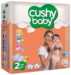 Подгузники Cushy baby 3-6кг, 80шт.