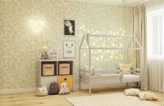 Кровать-домик RooRoom с одним ограничителем, спальное место 160х80см (цвета в ассорт.)