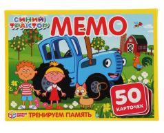 """Карточная игра Умные игры """"Синий трактор"""" Мемо, 50шт."""